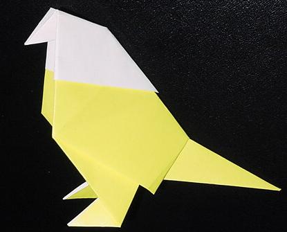 クリスマス 折り紙 折り紙 鳥 : matome.naver.jp
