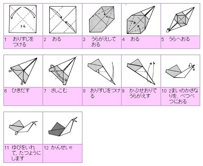 クリスマス 折り紙:折り紙 かたつむり-bunbouguyasan.com