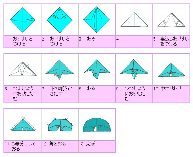 PEACOCK ORIGAMI, STEP BY STEP INSTRUCTIONS   Origami instructions ...   542x666